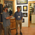 Shaun and Nicholas at ArtWalk