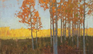 "DG16-05 ""October Aspen Grove"" 7""x12"" O-LP $990F WEB"