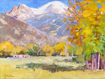 WG16-03 Crestone in the Fall 18x24 O-P $8,500 F WEB