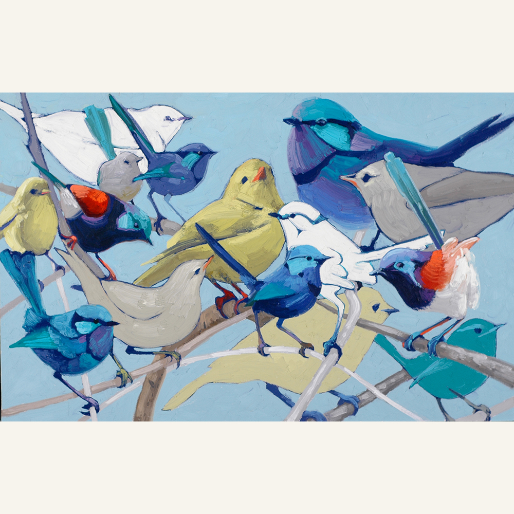 Feather Convention 22x34 oil WEB