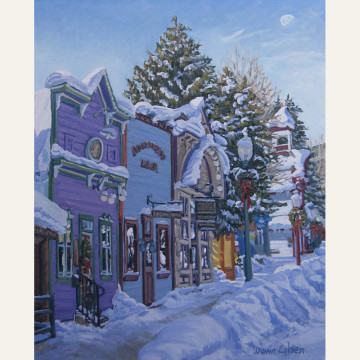 DC16-13 Winter Holiday 30x24 oil 3,200 F SOLD WEB