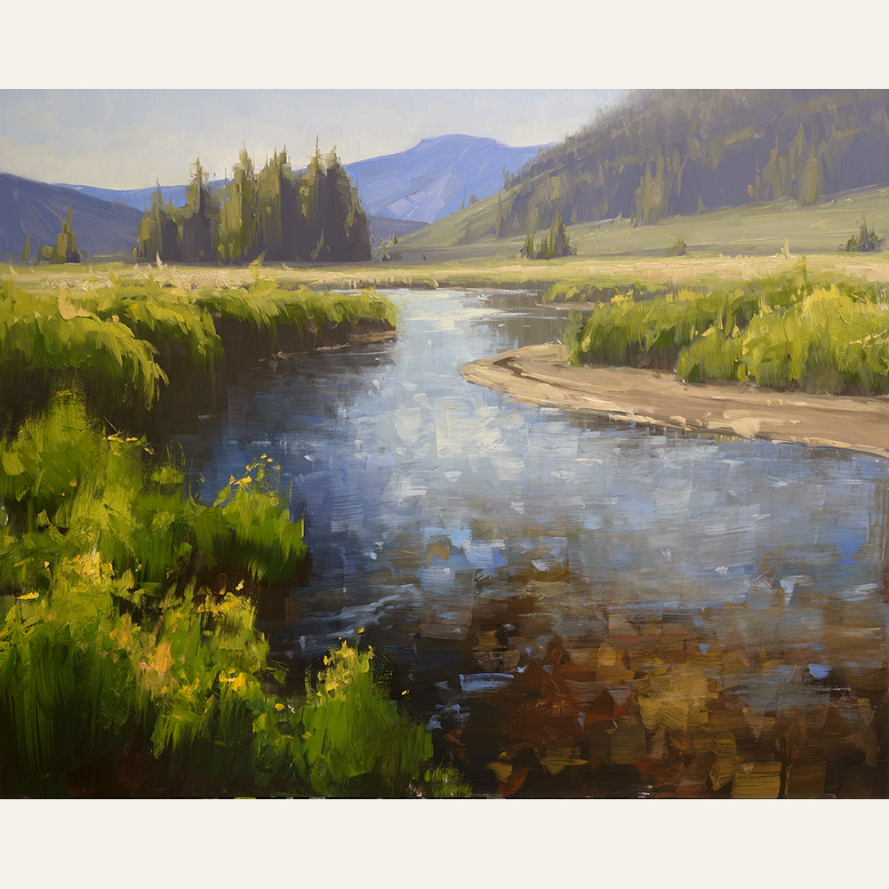 SP17-04 East River Summer 24x30 oil 3,600 F WEB