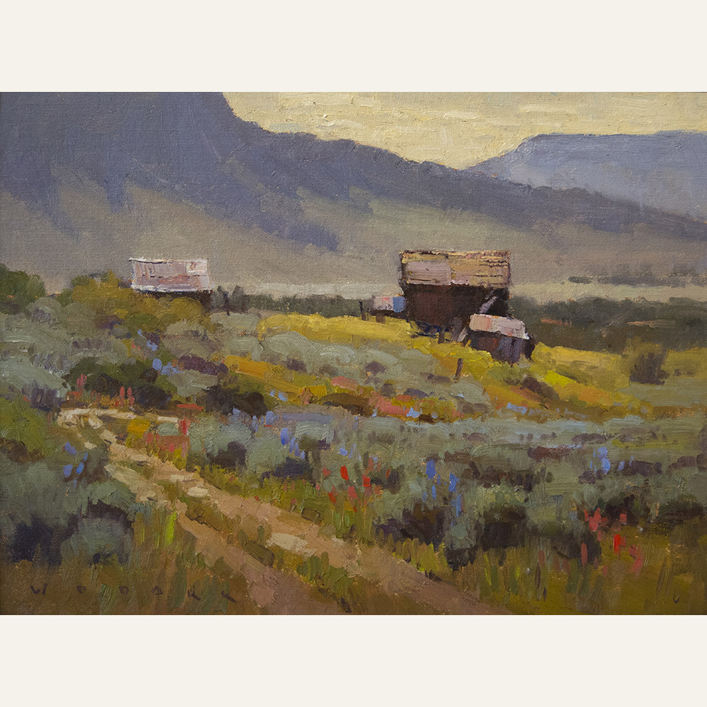 JW17-05 Crested Butte Morning 12x16 oil 1800 F copy