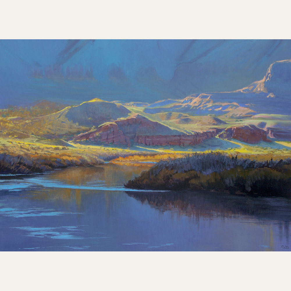 Colorado River Colors II 22x30 copy