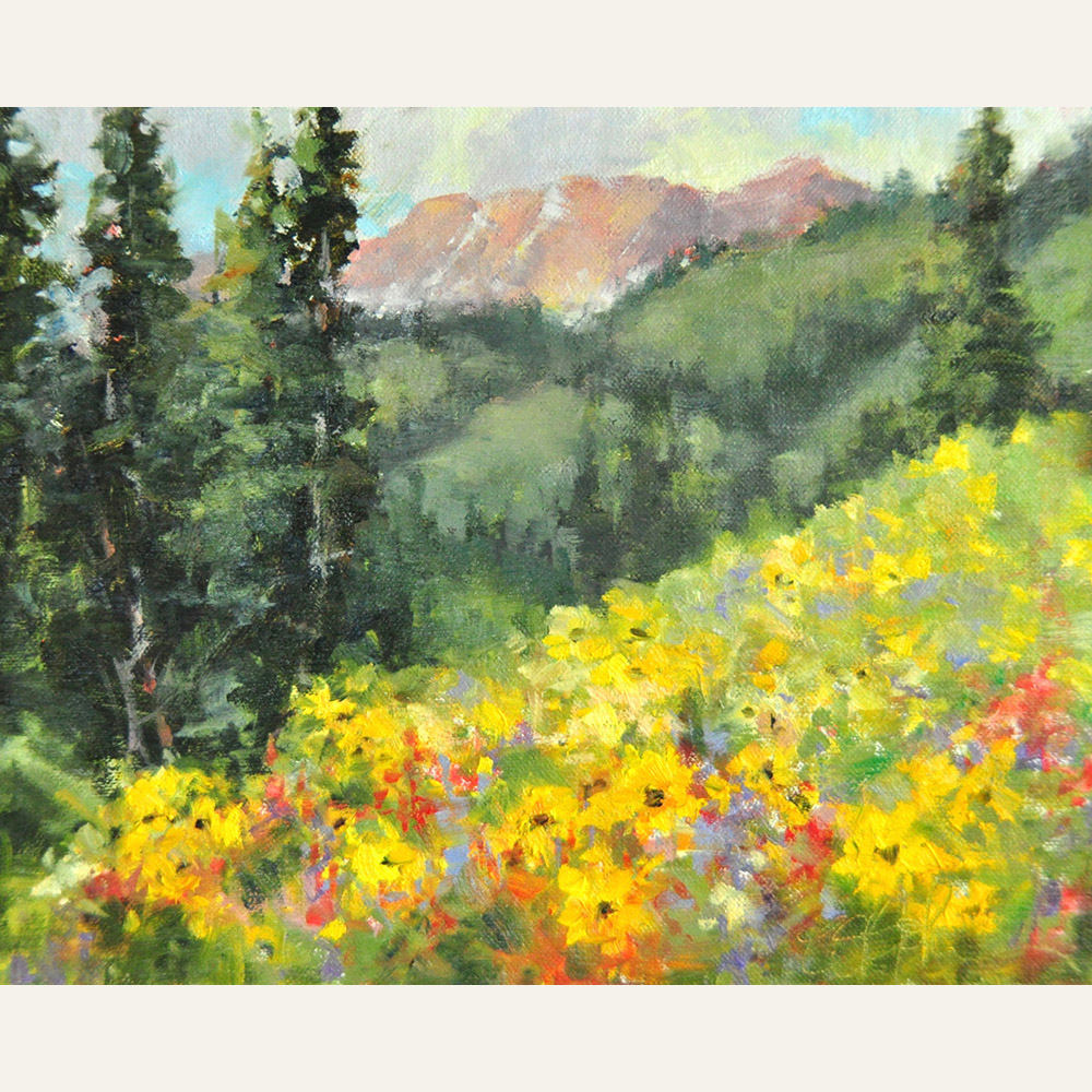 stjohn.Washington Gulch Wildflowers.8X10 oil.800 copy