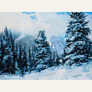 Fresh Snow 12x16 copy