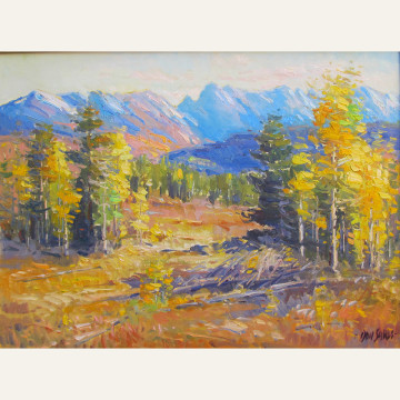 DSL17-01 Gore Range, Autumn Meadow 30x40 oil 10000 F WEB