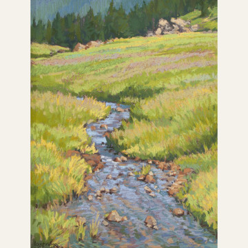LL17-13 Indian Creek 14x11 pastel 1,100 F WEB