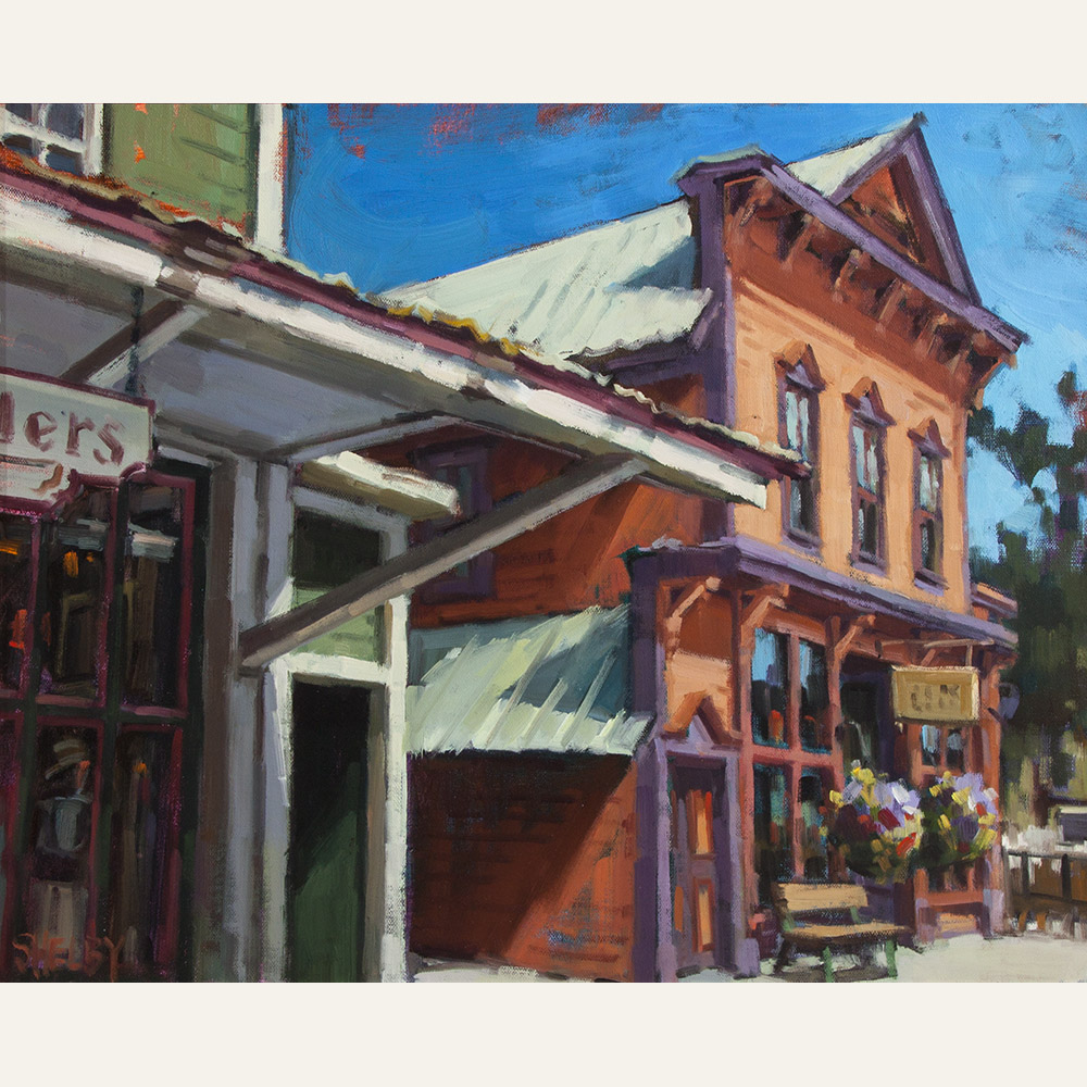 SK17-16 Storefronts 16x20 oil 2600 F WEB SOLD